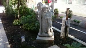 成子天神社 3毘沙門天