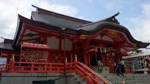 花園神社 拝殿 (1)