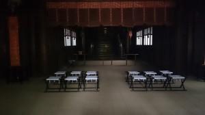 大井鹿嶋神社 社殿内部