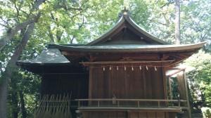 千束八幡神社 神楽殿