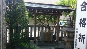 平田神社 手水舎