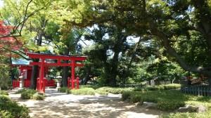 千束八幡神社 洗足池弁財天 (3)