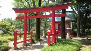 千束八幡神社 洗足池弁財天 (4)