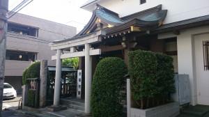 平田神社 社殿全景 (1)