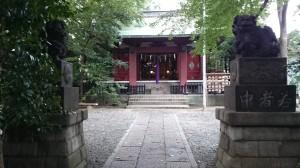 荒藺ヶ崎熊野神社 境内