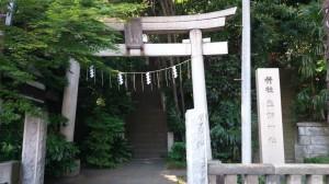 荒藺ヶ崎熊野神社 鳥居