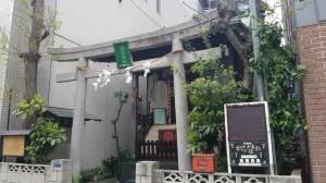駒形諏訪神社 鳥居