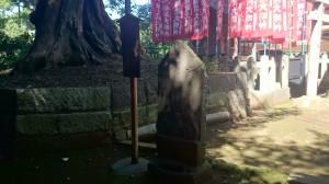 新宿諏訪神社 庚申塔