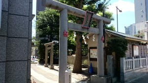 厳嶋神社(抜弁天) 北側鳥居