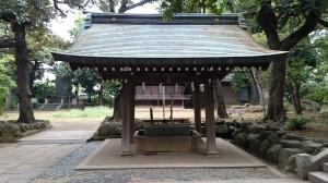 大井鹿嶋神社 手水舎