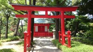 千束八幡神社 洗足池弁財天 (5)