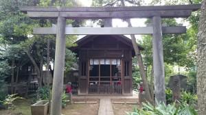 大井鹿嶋神社 境内社(旧社殿)