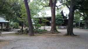 大井鹿嶋神社 境内
