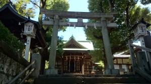 西向天神社 二の鳥居