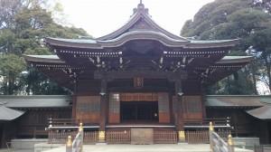 井草八幡宮 社殿