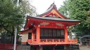 花園神社 神楽殿