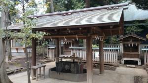 井草八幡宮 手水舎