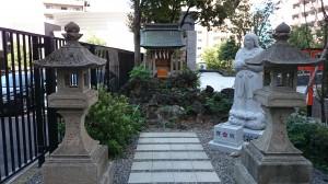 成子天神社 浅間神社里宮