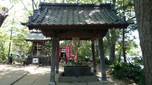 千束八幡神社 手水舎