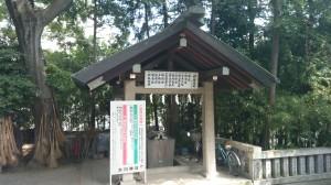 幡ヶ谷氷川神社 手水舎