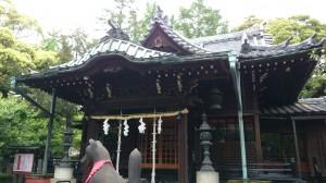 三圍神社(三囲神社) 社殿