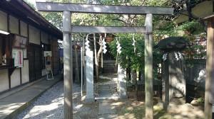 牛天神北野神社 太田神社・高木神社 鳥居