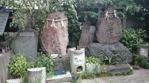 波除稲荷神社 すし塚・海老塚
