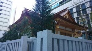 福徳神社 社殿後方