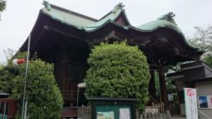 桐ヶ谷氷川神社 社殿