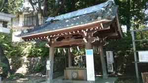 雪ヶ谷八幡神社 手水舎
