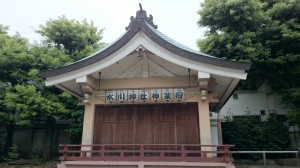 桐ヶ谷氷川神社 神楽殿