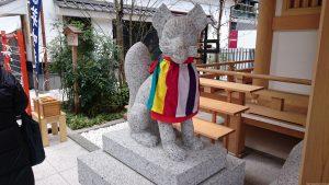 福徳神社 狛狐 (1)