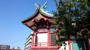筑土八幡神社 本殿
