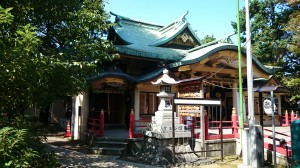 四谷須賀神社 社殿