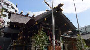 波除稲荷神社 拝殿