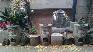 波除稲荷神社 昆布塚