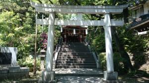 雪ヶ谷八幡神社 三の鳥居