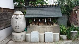 波除稲荷神社 玉子塚・末社