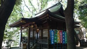 雪ヶ谷八幡神社 齋霊殿