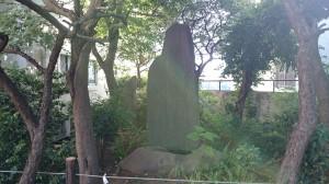 牛天神北野神社 中島歌子歌碑