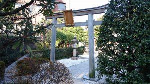 恵比寿神社(恵比寿ガーデンプレイス) 鳥居