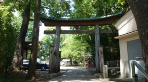 雪ヶ谷八幡神社 二の鳥居