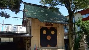 四谷須賀神社 神輿庫