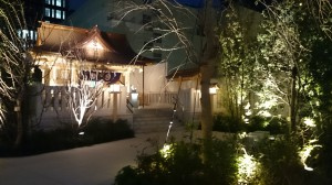 福徳神社 ライトアップ (2)