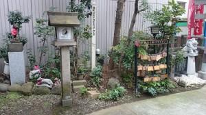 讃岐・小白稲荷神社 境内風景