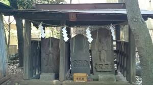 雪ヶ谷八幡神社 猿田彦神社 (2)