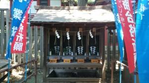 雪ヶ谷八幡神社 薬神社・稲荷神社・天神社・加藤神社