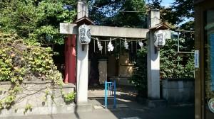 四谷須賀神社 南参道