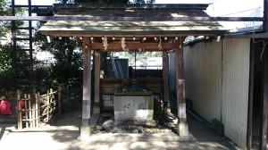 四谷須賀神社 手水舎