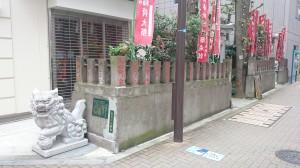 讃岐・小白稲荷神社 社頭